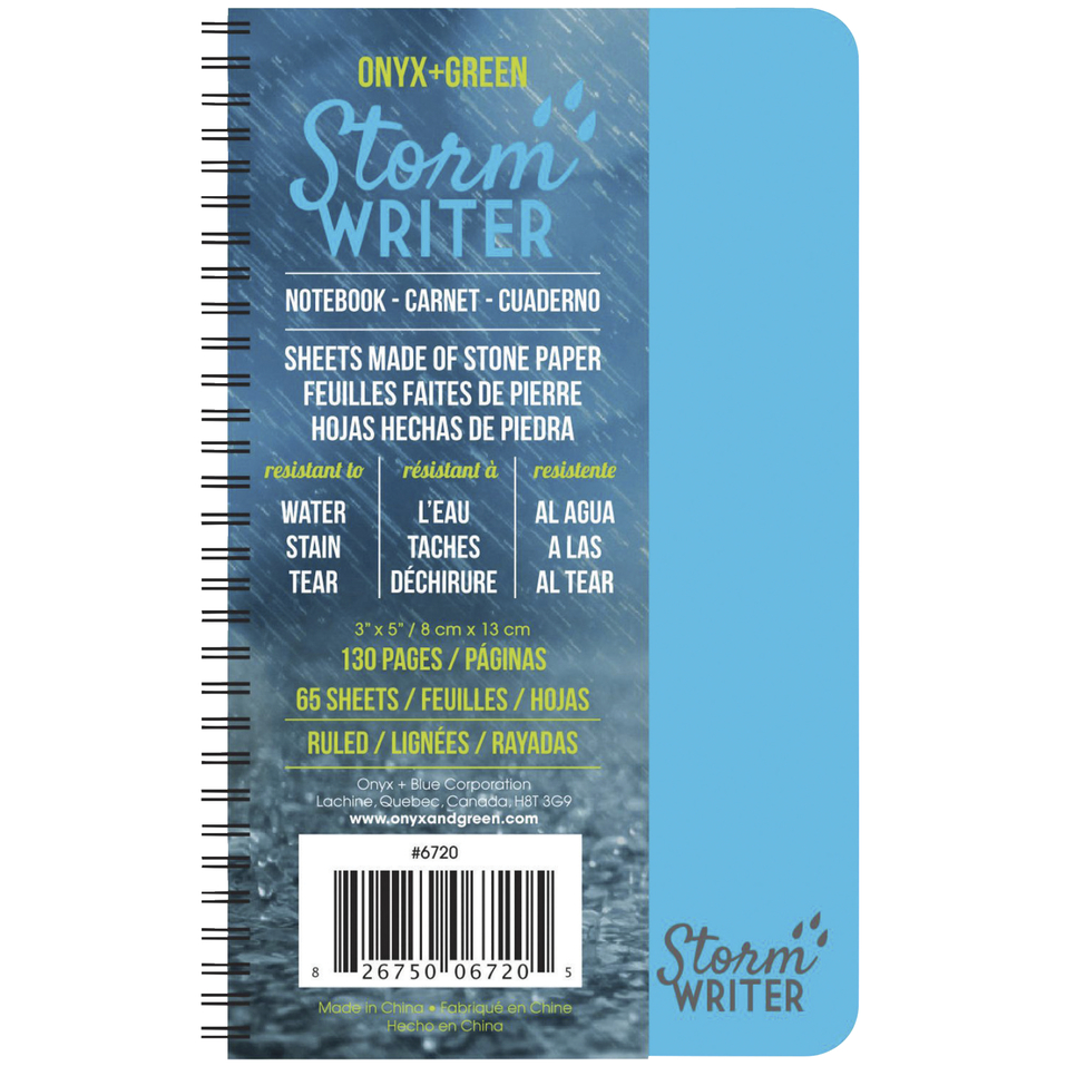 Image For Onyx and Green Storm Writer Notebook, Mini