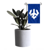 Cover Image for Trident Garden Flag, Navy