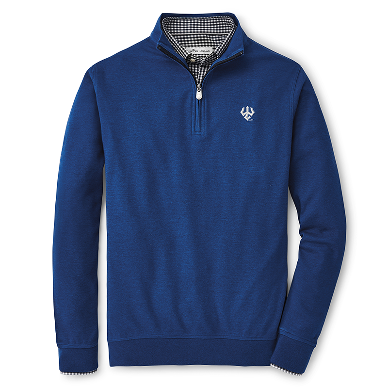 Image For Peter Millar Crown Comfort Interlock 1/4 Zip