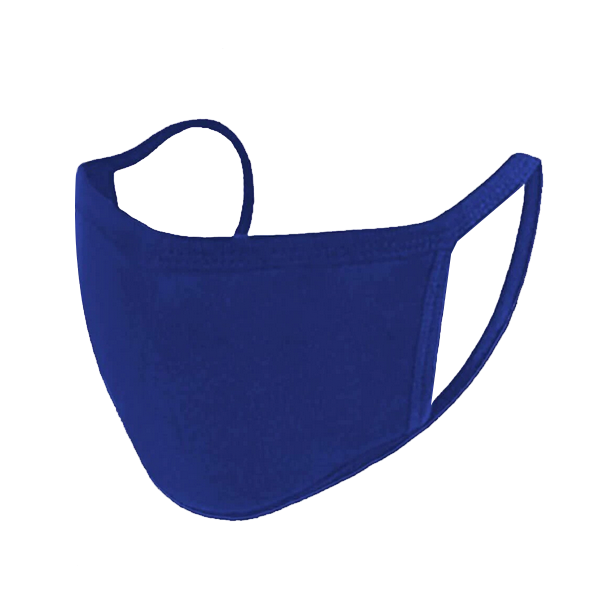 Image For Face Mask, Royal Blue