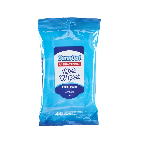 Image For Sanitizing Wipes, 40 Count