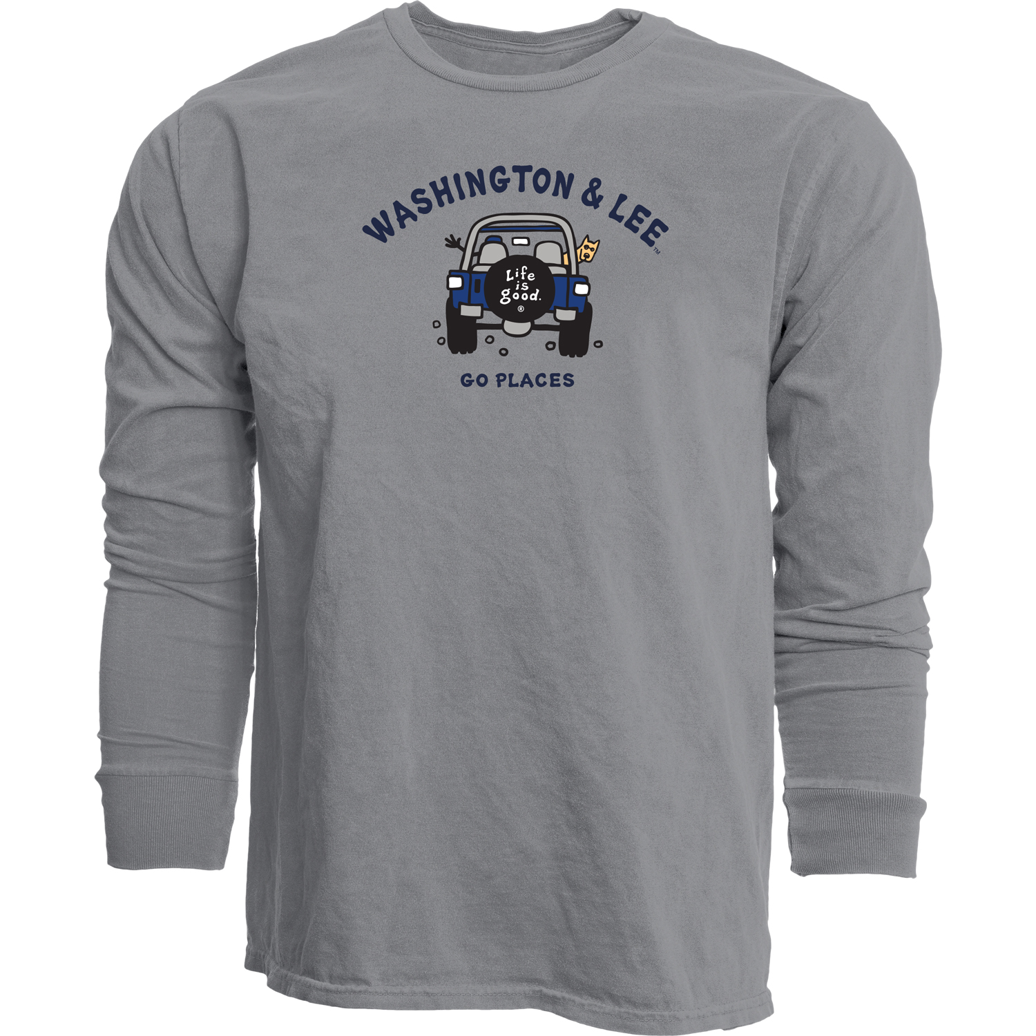 Image For Blue 84 Life is Good Long Sleeve Tee