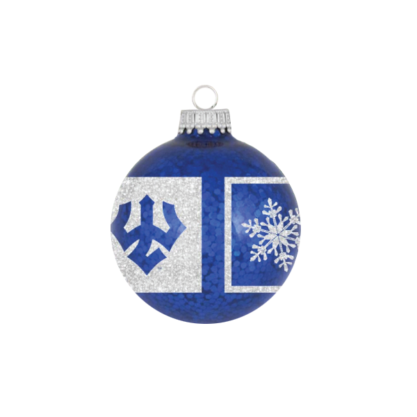 Image For Trident Snowflake Ornament