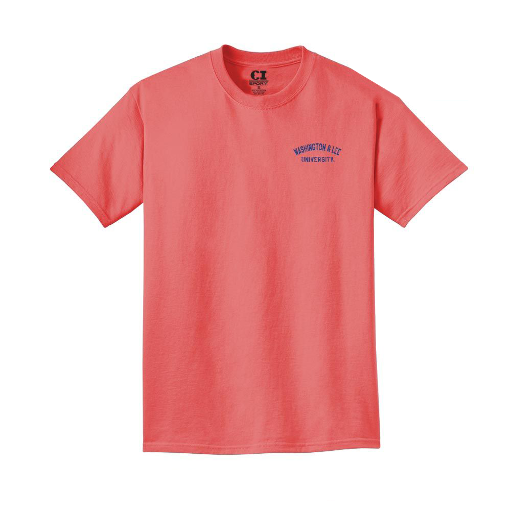 Image For CI Sport Pigment Dyed Tee, Red or Blue