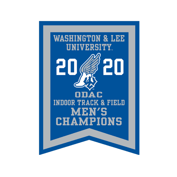 Image For 2020 Men's Indoor Track Banner