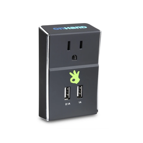 Image For OnHand Dual USB Wall Outlet