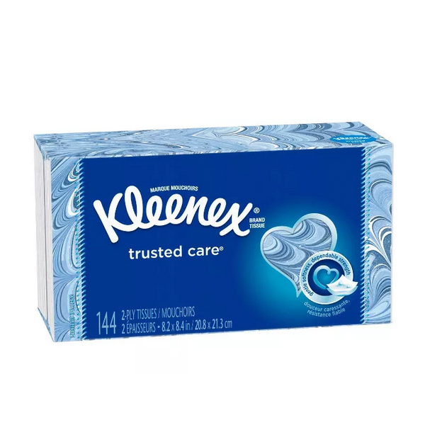 Image For Kleenex Trusted Care Facial Tissues
