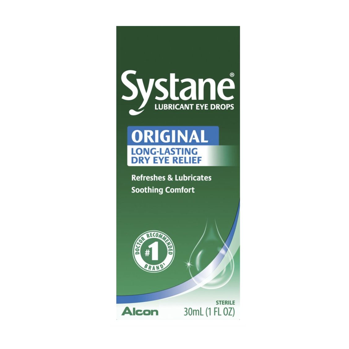 Image For Systane Lubricating Eyedrops