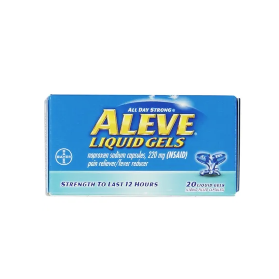 Image For Aleve Liquid Gelcaps, 220mg