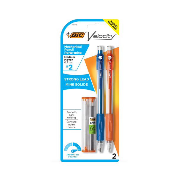 Image For BIC Velocity Mechanical Pencil, .7mm