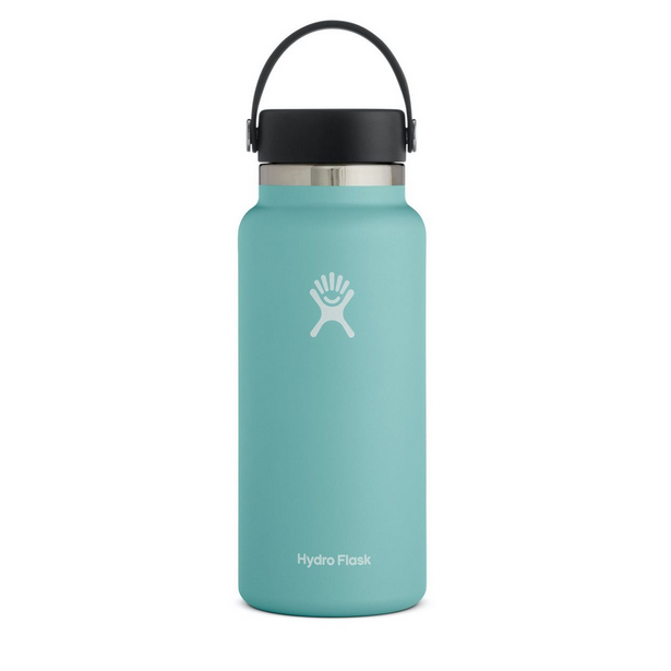 Image For Hydroflask Insulated Wide Mouth Water Bottle, Alpine